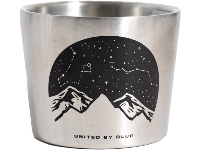 United By Blue Lunar Mountain Kompas Beker 295ml, stainless steel